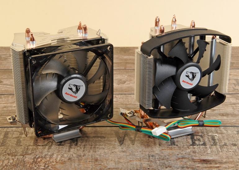 Обзор процессорных кулеров Aardwolf Performa 3X и Performa 5X